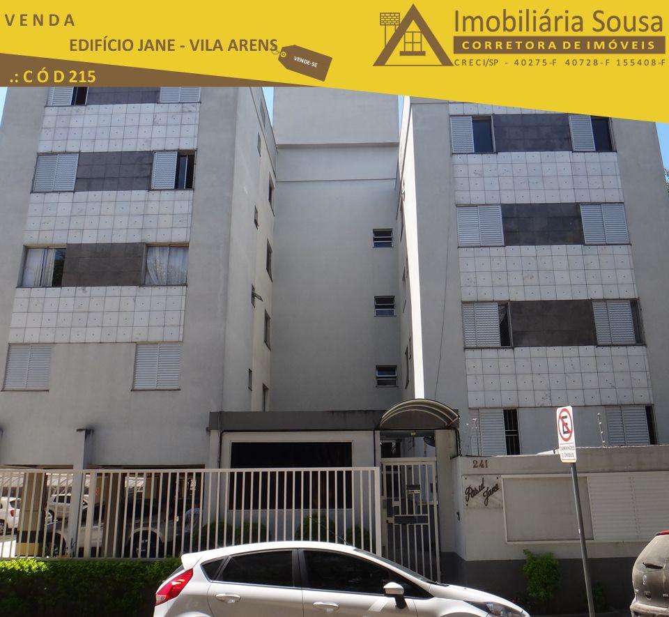 Apartamento – Residencial Jane -Venda – Vila Arens