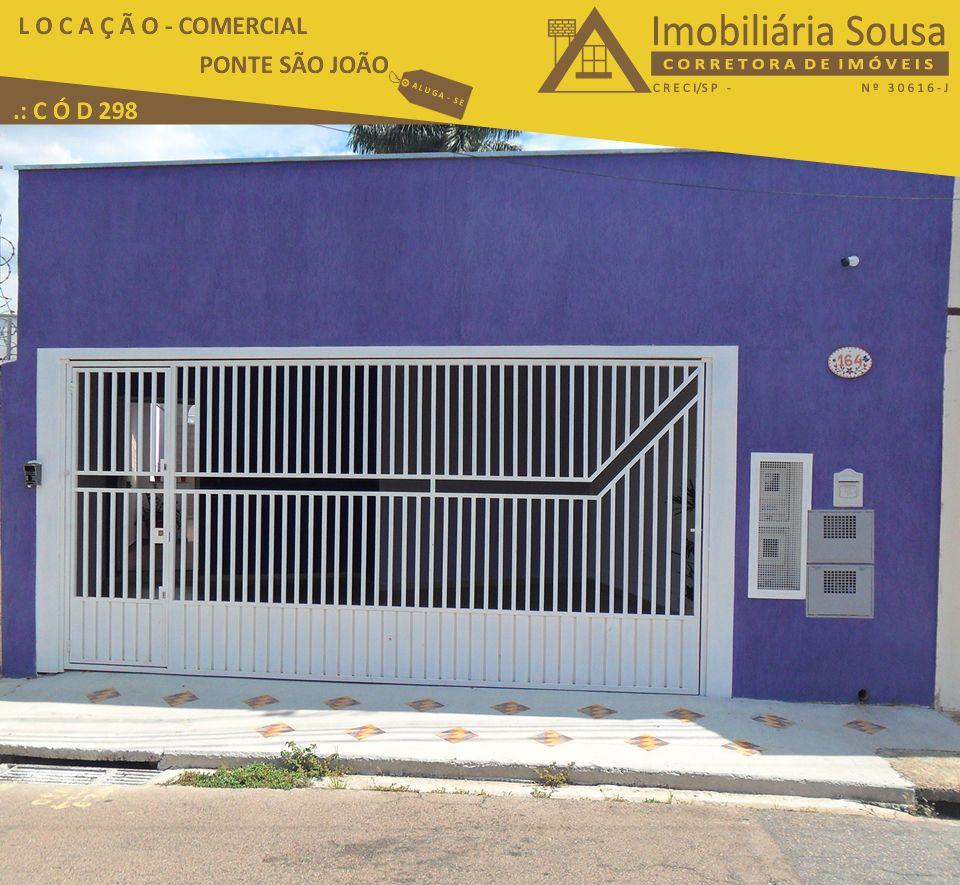 Casa Residencial – Ponte São João