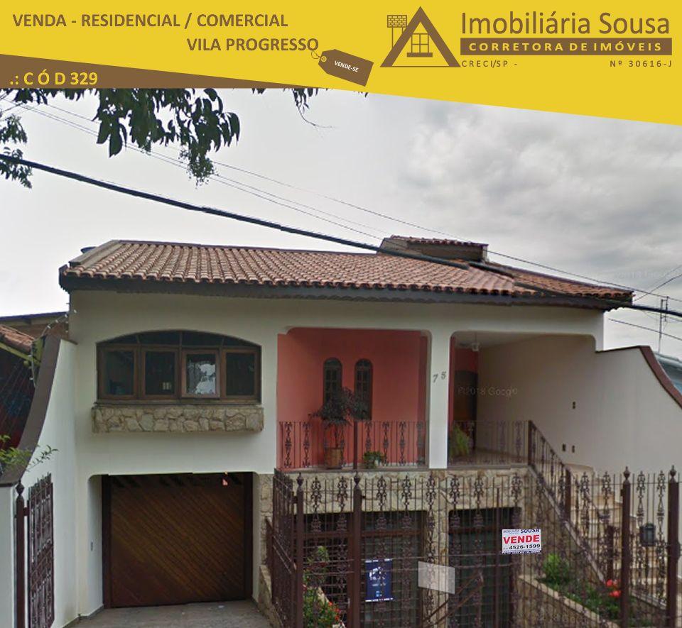 Casa – Excelente – Venda – Vila Progresso