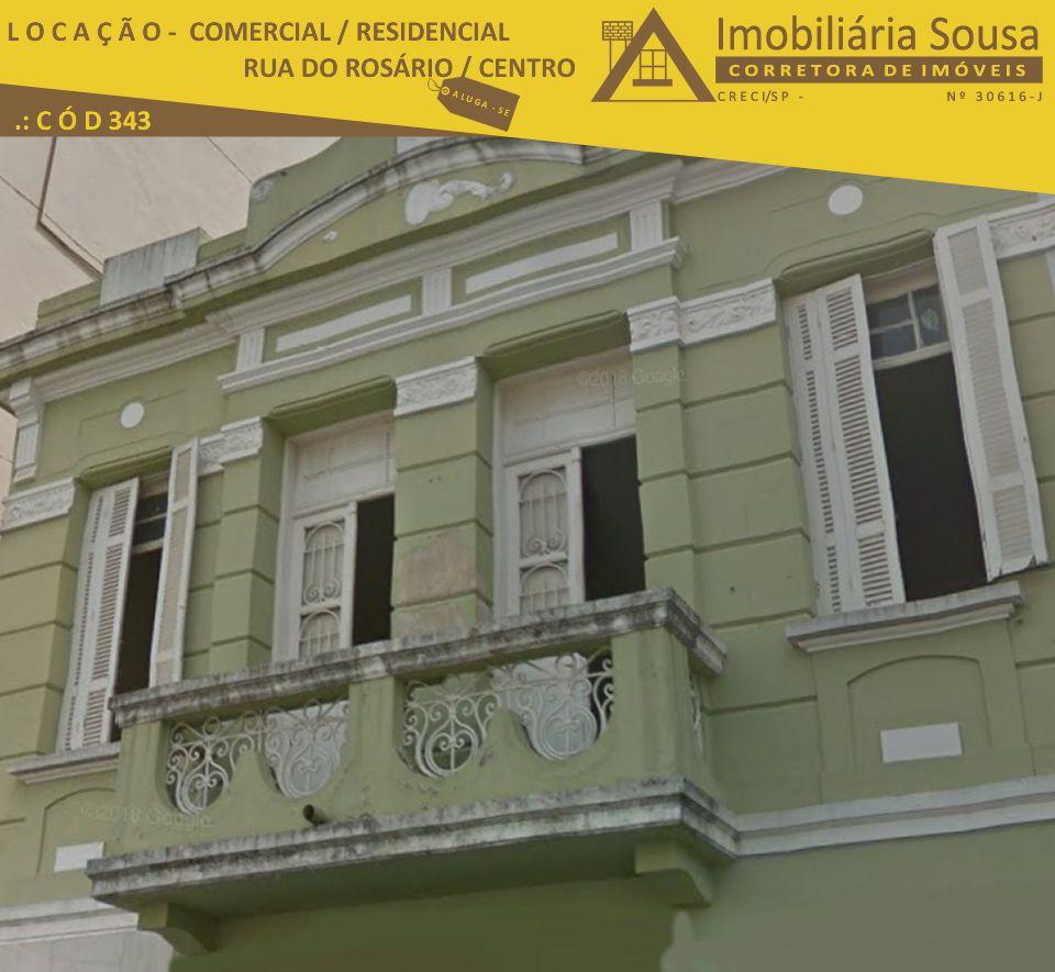 Casa – Comercial – Residencial – Centro