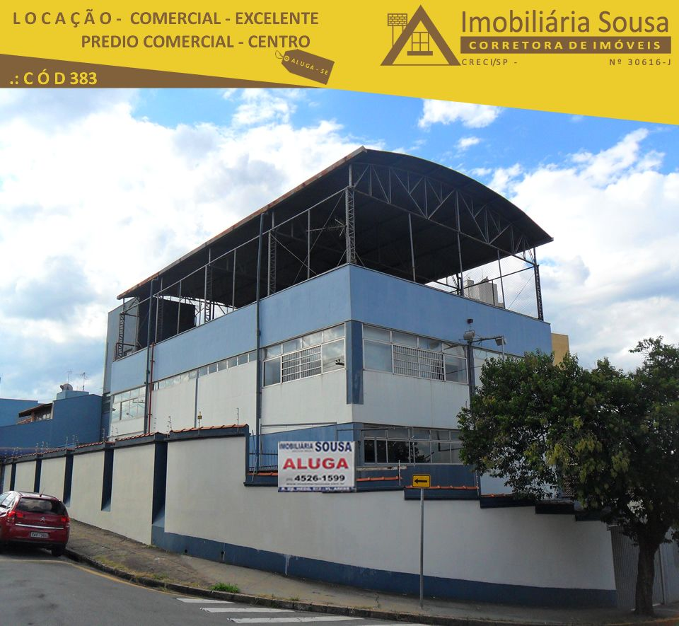 Prédio Comercial – Centro – Locação