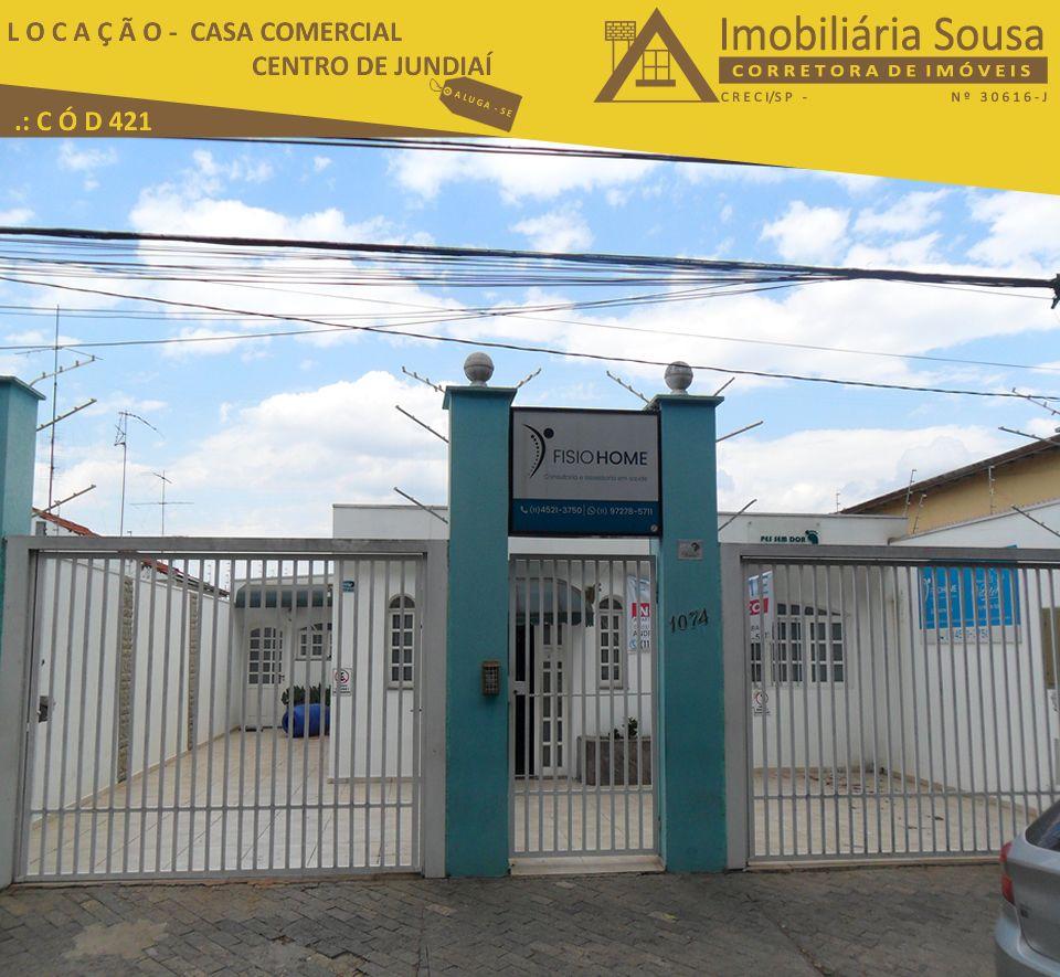 Casa – Comercial – Centro