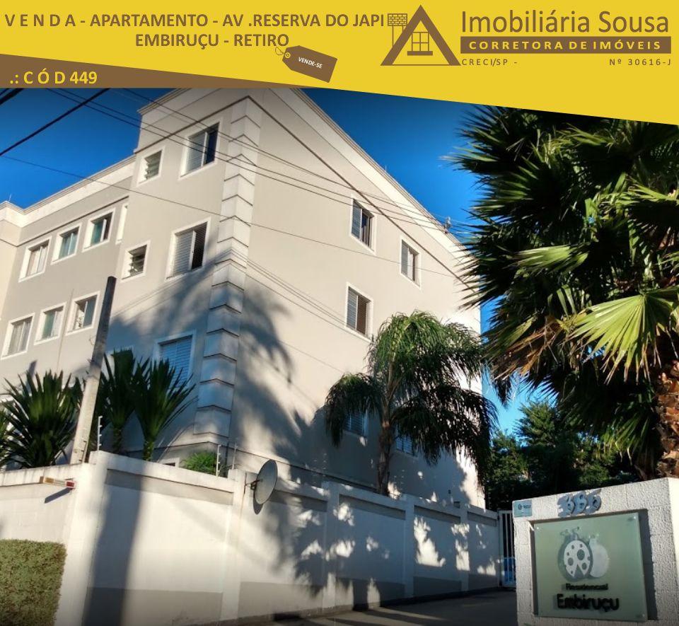 Apartamento Embiruçu – Retiro